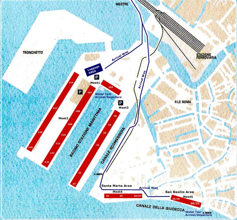 Venice Limousine service, Limousine Articles services in ... on venice italy tourist attractions map, train station venice map, venice airport map, venice italy hotel areas map, venice grand canal map, downtown venice map, venice lagoon map,