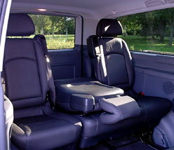 Venice Limousine Company: Mercedes Mini-Van and Van V-Class and Viano-Class Leather Inside