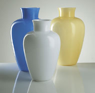 Venice Murano Glass: Classì Vases, Morgana Glassworks collection